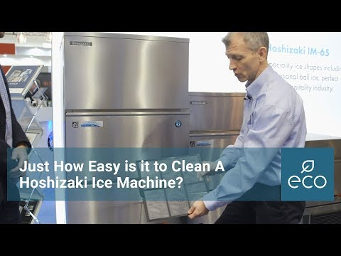 Just How Easy is a Hoshizaki Ice Machine to Clean?