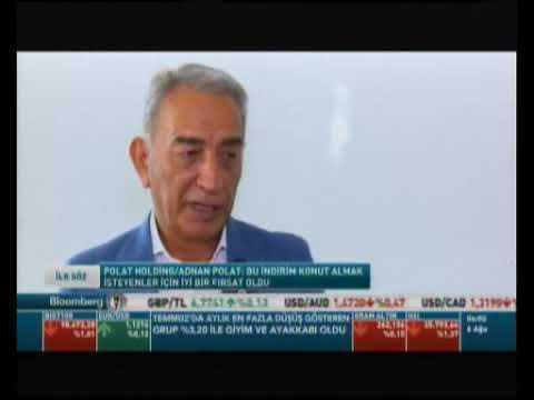 Polat Holding Yönetim Kurulu Başkanı Adnan Polat – Bloomberg HT İLK SÖZ programında!