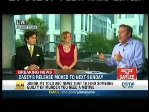 Meg Strickler on HLN Prime News with Vinnie Politan on July 8, 2011 discussing Casey Anthony
