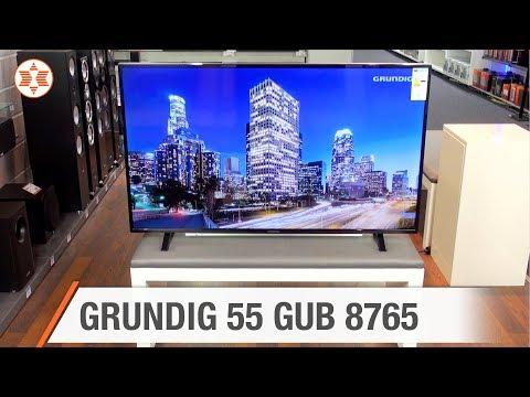 GRUNDIG 4K Ultra HD TV 55 GUB 8765 - Jubiläums-Angebot der Woche