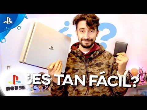 Cómo cambiar el DISCO DURO de tu PS4 | #PlayStationHouse