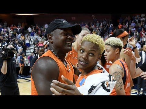Connecticut Sun's Courtney Williams Has Endless Support From Her Father