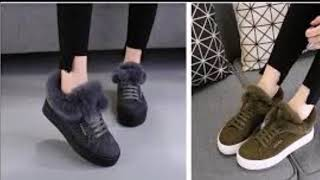 احدث واشيك احذية الخروج للبنات موضة شتاء 2018