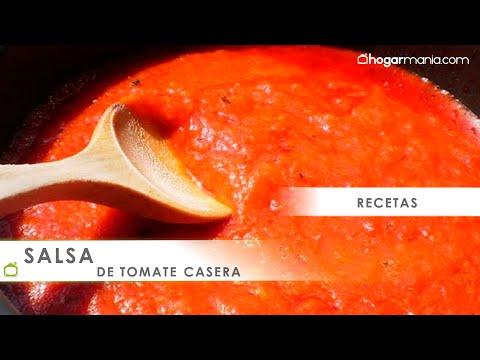 Receta de salsa de tomate casera fácil en 10 minutos - Bruno Oteiza