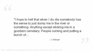 J. Salinger Quotes