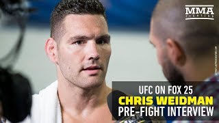 Chris Weidman Promises Banner Performance at FOX 25: 'I Can't Get Beat Up on Long Island'