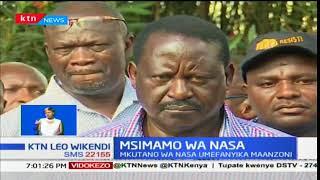 Muungano wa NASA wakariri kutohudhuria kamwe halfa ya kumwapisha Rais Uhuru Kenyatta