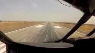 Heavy and Hot!  C-5 Takeoff at 700,000 lbs and 37C