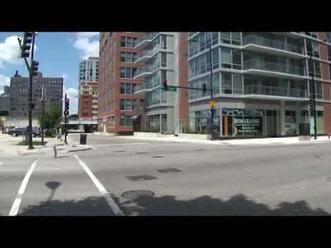 Views from Clark Street outside AMLI 900