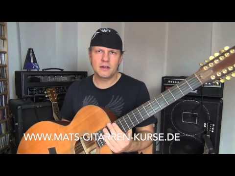 Die 12 Saitige Gitarre oder 12 String - was ist das eigentlich? - Gitarrentips