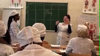 Open anatomy lesson of students at Donetsk National Medical University - part 2