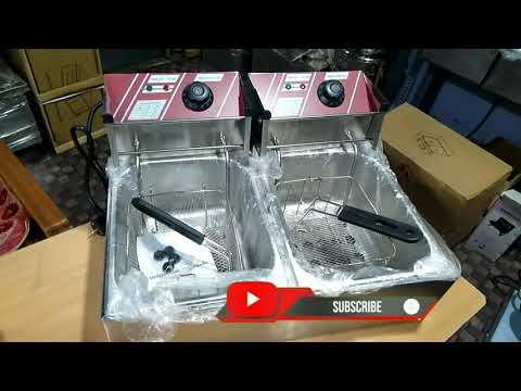 Two Tank Electric Deep Fat Fryer
