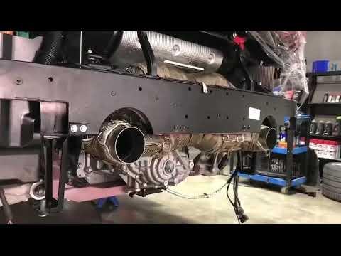 Ferrari F8 Tributo w/ iPE Exhaust FULL Titanium SYSTEM