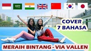 Meraih Bintang - Via Vallen (Cover 7 Bahasa) Ft. Alif Ekacahya