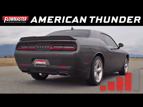 2015-16 Challenger R/T 5.7L - American Thunder Cat-back Exhaust System 817716