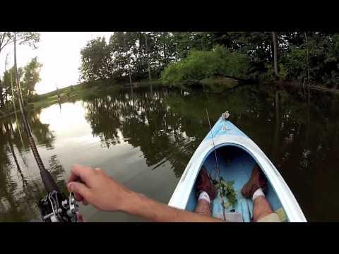 Rainy Day Pond Fishing