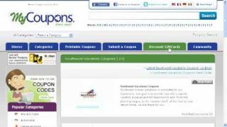 How To Use Southwest Coupon Codes
