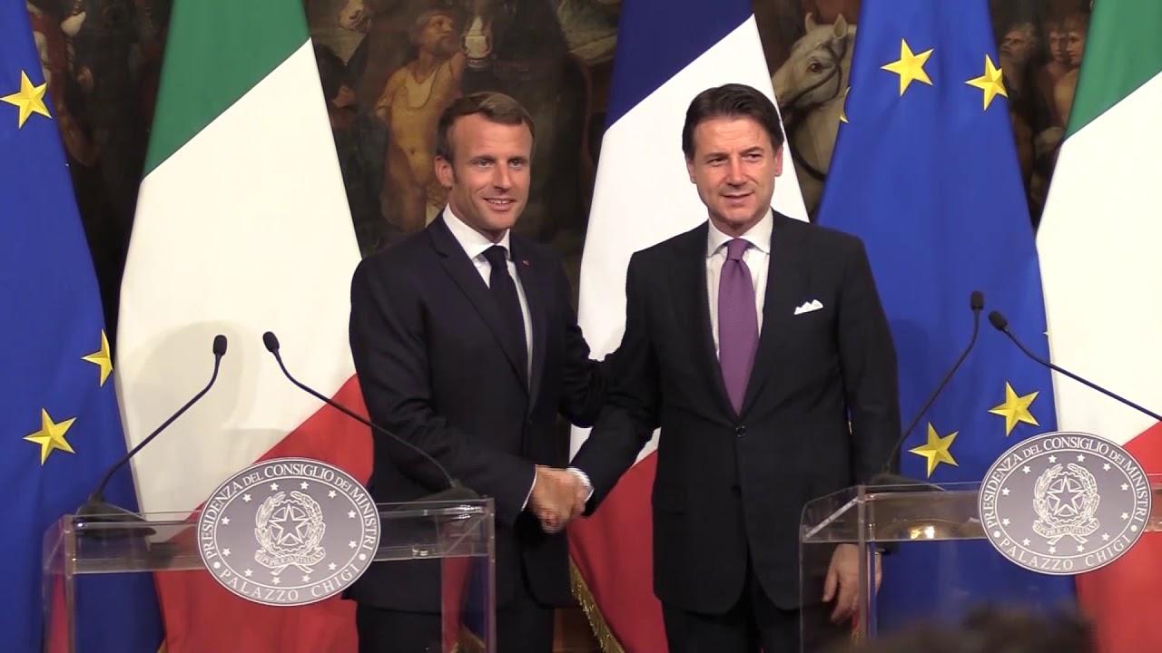 Conte-Macron: alleati ritrovati