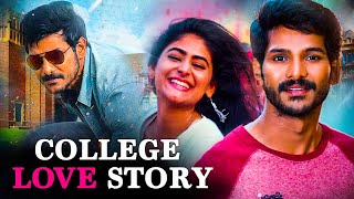 College Love Story 2020 Full Hindi Dubbed Romantic Movie | Love Story Movies | South Movies