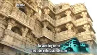 7 Wonders of India: Dwarkadhish Temple - YouTube