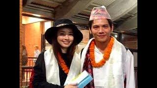 向佐带郭碧婷游尼泊尔高度赞扬未婚妻:她是没有被污染的白莲花