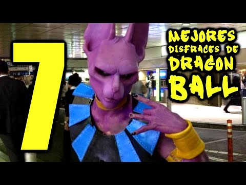Los 7 Mejores disfraces de DRAGON BALL (DBZ Cosplay)
