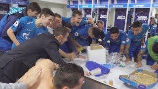 «Это команда!»: победная раздевалка после «Краснодара»