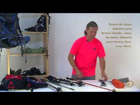 Bastones de montaña (1) Características y consejos