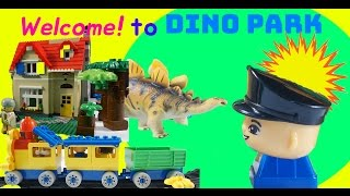[With Kids]LEGO OXFORD Block Stop Motion Dinosaurs Park Trip