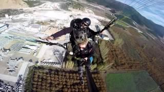 bursa gürsu yamaç paraşütü uçuşları