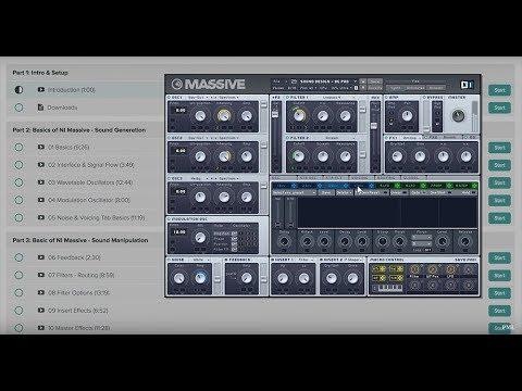 Course: MASSIVE + Sound Design