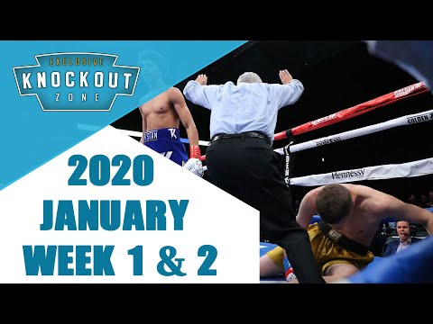 Boxing Knockouts | January 2020 Week 1 & 2