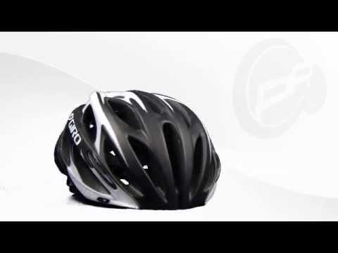 Giro Saros Rennradhelm matt schwarzweiss