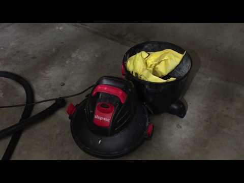 Shop-Vac 6 Gallon Vacuum Weak Suction