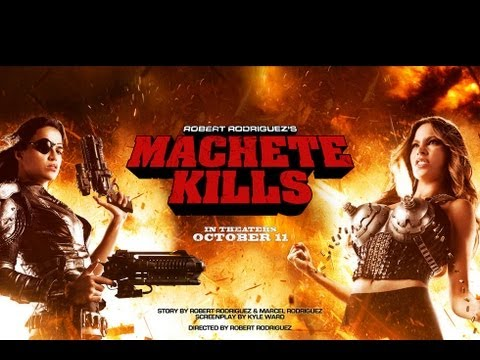 Machete Kills Featurette 'Behind the Machete'
