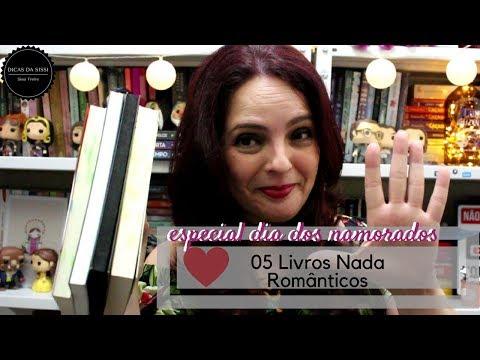5 Livros Nada Românticos - Projeto Dia dos Namorados | Dicas da Sissi
