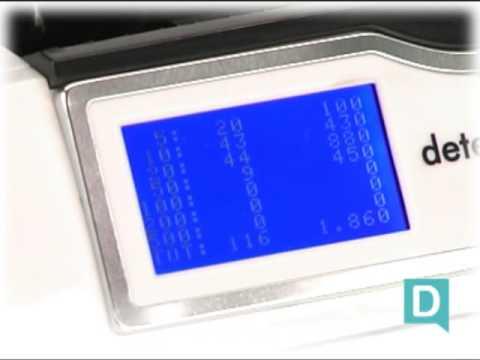 Detectalia S400 Totaliseur de biletes professionnel