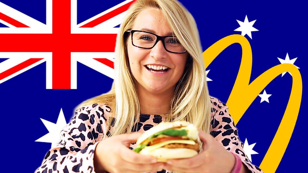 Americans Try Australian McDonald's (Macca's) thumbnail