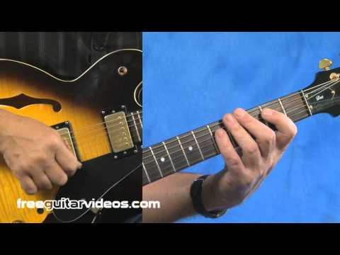 Pride and Joy - Rhythm Guitar Lesson
