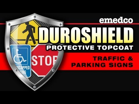Duroshield Topcoat for Traffic & Parking Signs