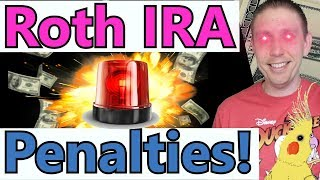 3 BRUTAL Roth IRA Distribution Penalties to Avoid! (Roth IRA Distribution Rules)  - Very Detailed