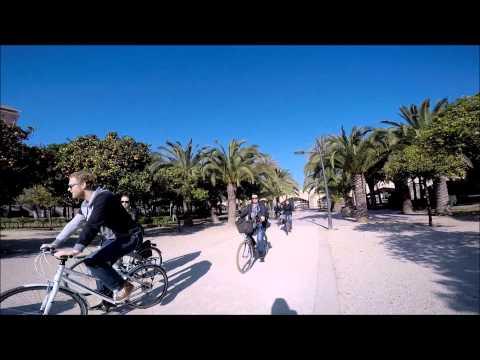 Video Nederlandstalige fietstour in Valencia, februari 2015