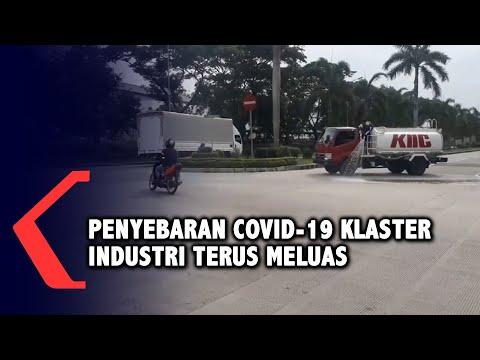 penyebaran covid- klaster industri di karawang terus bertambah