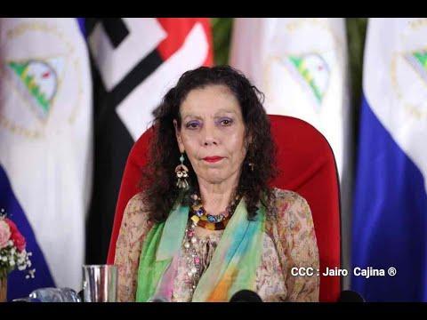 Compañera Rosario Murillo: Cuidamos la paz como tesoro nacional