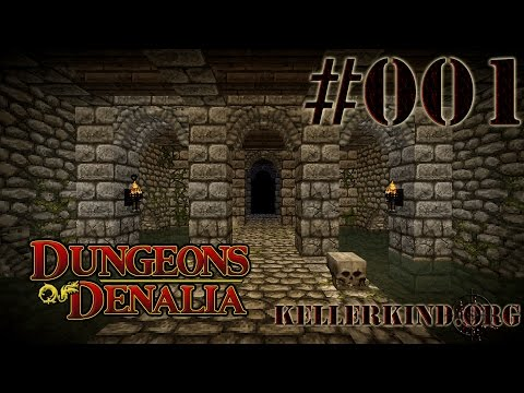 Minecraft Dungeons of Denalia [HD] #1 – Auf zur Zombiejagd! ★ Let's Play Minecraft Custom Maps