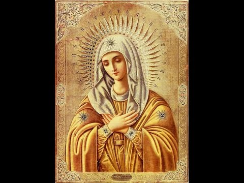 Молитва, когда очень плохо - Царице моя преблагая