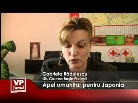 Apel umanitar pentru Japonia