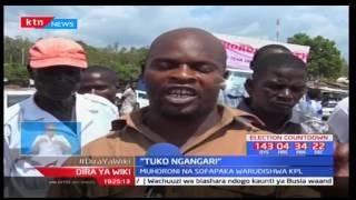Timu ya Muhoroni Youth wakotayari kuchuana na Kariobangi Sharks mjini Kisumu