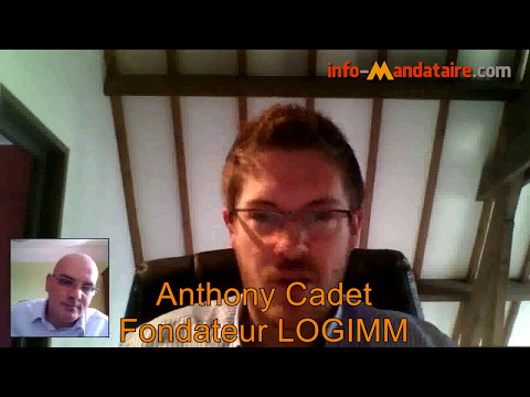 Interview d'Anthony Cadet fondateur de LOGIMM