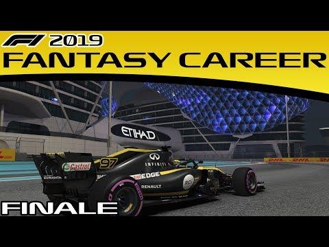 F1 2019 Fantasy Career Mode FINALE - ABU DHABI GP | (F1 2018 Game)